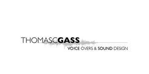 Logo - THOMASSCGASS - Voice overs & sound design