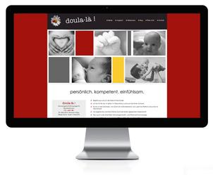 Webseite für Doula