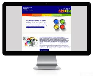 Webseite für ein Malergeschäfft