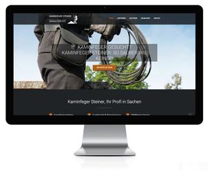 Wordpress Webseite für Kaminfeger