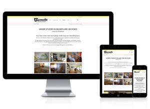 Webdesign mit Online-Shop für Beauty Center