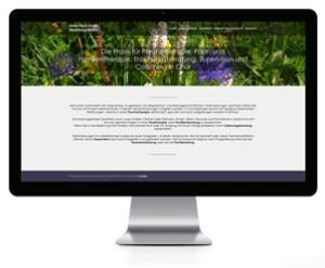 Webseite für Psychiatrische Praxis