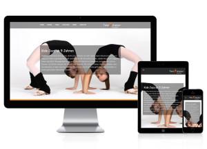 WordPress Webseite für Tanzstudio
