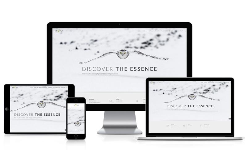 Webseite für eine Consulting Firma