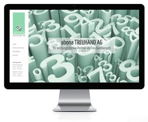 Webseite für Treuhand- Büro