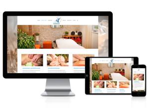 Webseite für Massagestudio