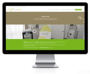 WordPress Webseite für Kosmetikstudio