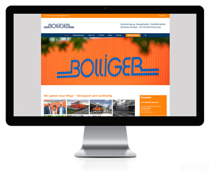 Wordpress Webseite für Bolliger & Co. AG