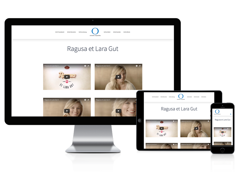 Wordpress Webseite für Synchronsprecher