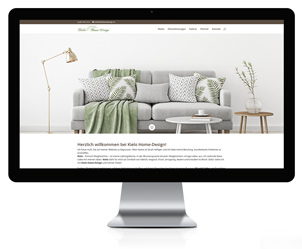 Wordpress Webseite für Kielo Home-Design