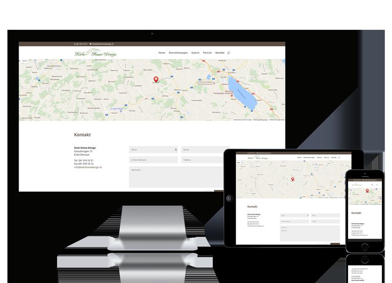 Wordpress Webseite für Kielo Home-Design