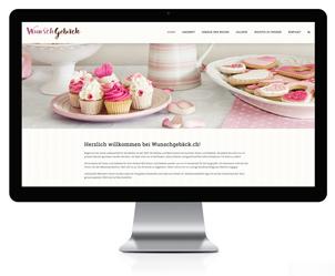 Wordpress Webseite für Konditor
