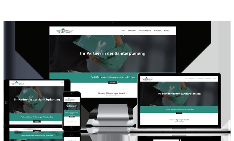 Wordpress Webseite für Sanitärplanung