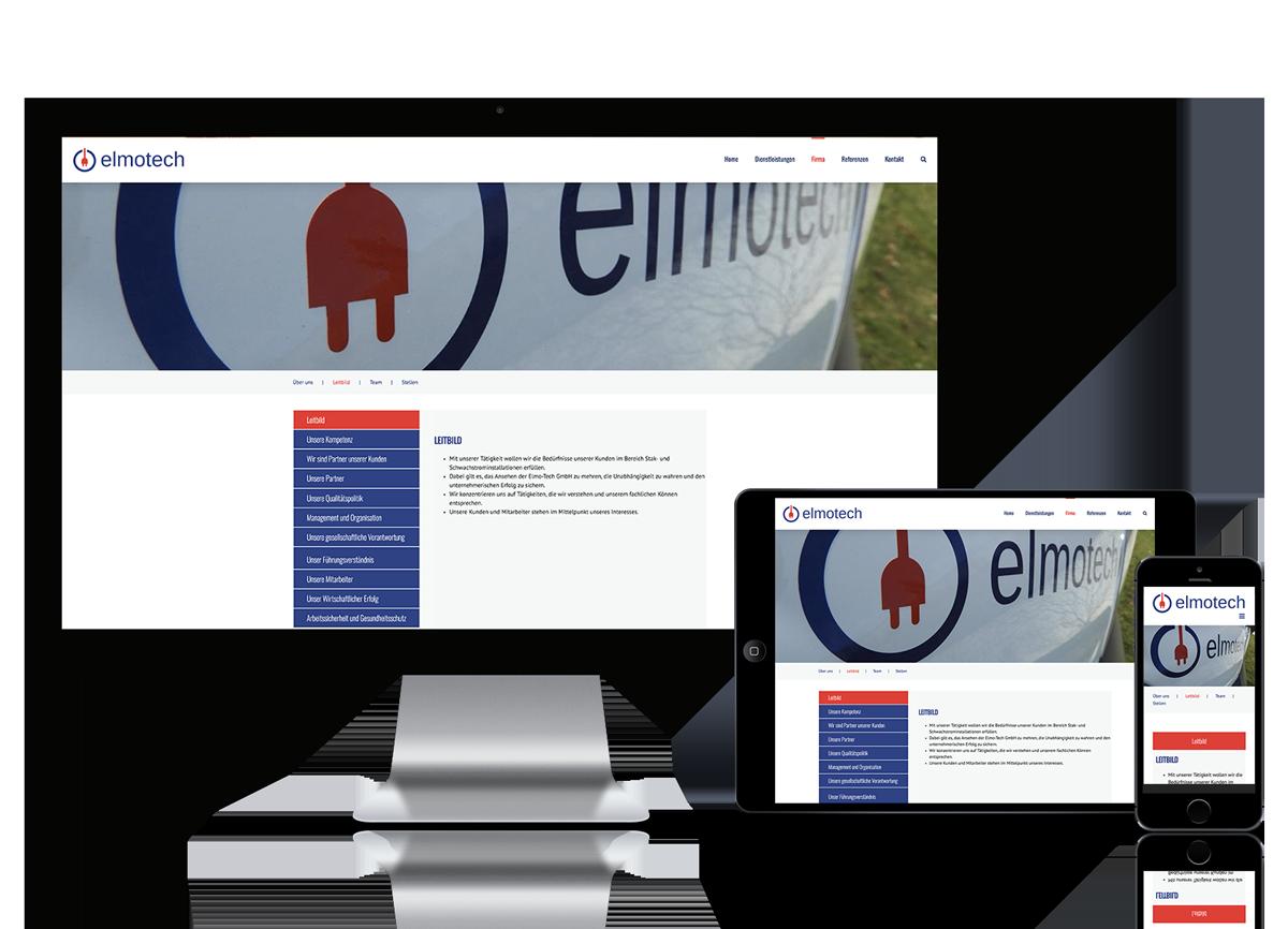 Webseite für Elektrotechniker