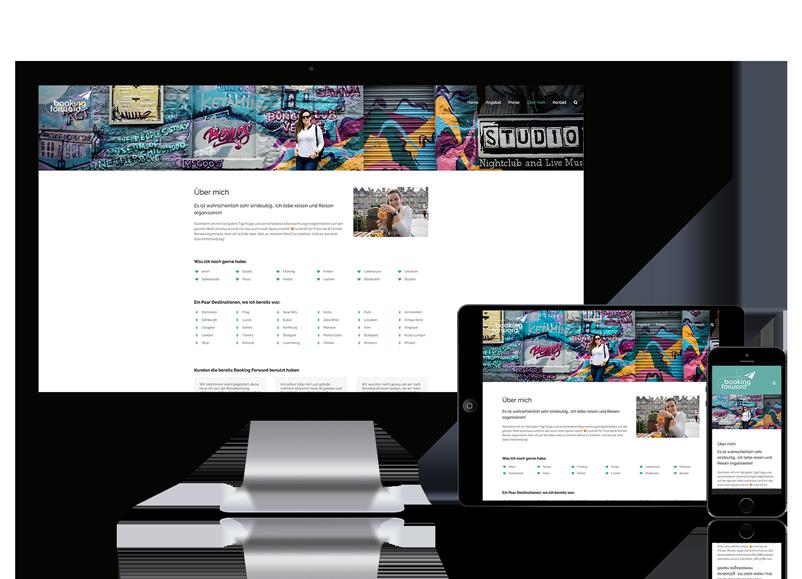 Webseite für Reiseveranstalter