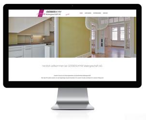 Wordpress Webseite für Malergeschäft