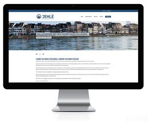 Webseite für Fahrschule