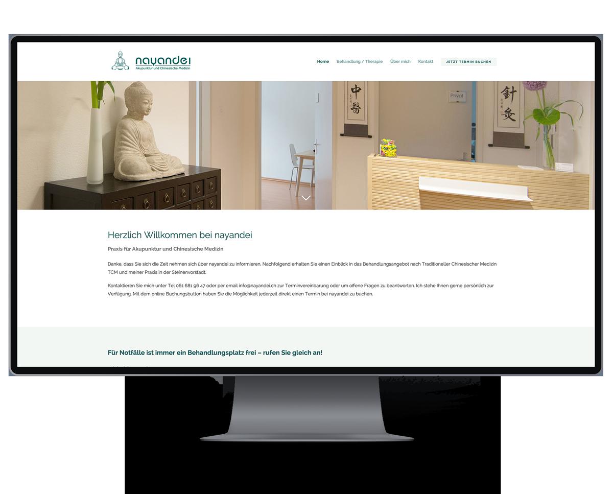 Webseite für Akupunktur und Chinesische Medizin